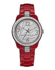 Miss Sixty Ladies Plastic Bracelet Watch