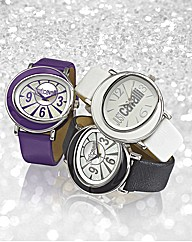 Just Cavalli Colour Strap Watch
