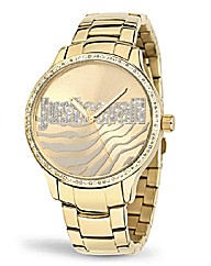 Just Cavalli Animal Dial Bracelet Watch