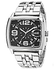 Just Cavalli Gents Square Case Watch