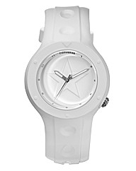 Converse Gents White Strap Watch