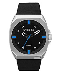 Diesel Gents Black Strap Watch