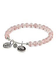 Roses Charm Watermelon Crystal Bangle