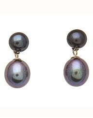 9 Carat Gold & Pearl Earrings