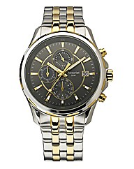 Accurist Two-tone Chronograph Watch