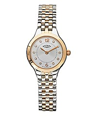 Rotary Ladies Two-tone Bracelet Watch