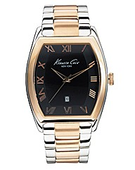 Gents Two-tone Bracelet Watch