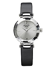 Kenneth Cole Ladies Black Strap Watch