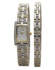 Eco-Drive Ladies Watch & Bracelet Set
