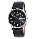 Eco-Drive Gents Black Strap Watch