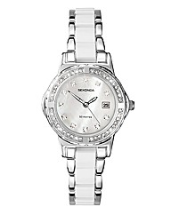 Sekonda Ladies White Bracelet Watch