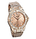 Seksy Rose-gold Plated Watch
