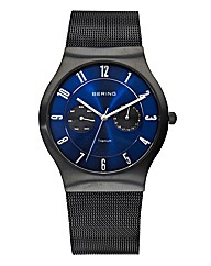 Gents Titanium & Mesh Bracelet Watch