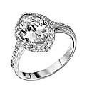 Jon Richard Silver Cubic Zirconia Ring