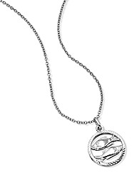 So Jewellery Silver Zodiac Pendant