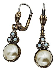 Cavendish French Faux Pearl Earrings