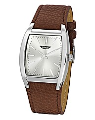 Label J Gents Brown Strap Watch