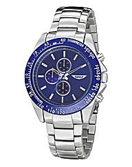 Label J Gents Blue Dial Bracelet Watch