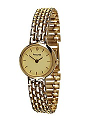 Accurist 9ct Gold Ladies Watch
