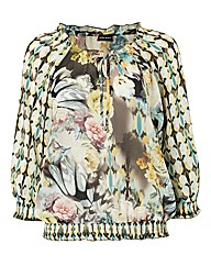 Gerry Weber Printed Chiffon Blouse