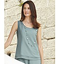 Gray & Osbourn Sleeveless Top