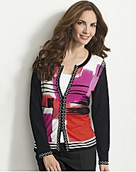 Gelco Printed Zip Through Jacket
