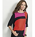 Gelco Colour Block Top