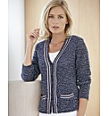 Gelco Tweed Knit Cardigan