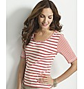 Gray & Osbourn Stripe Top