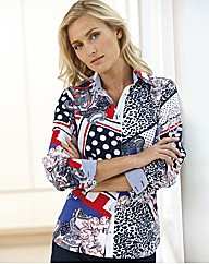 Betty Barclay Scarf Print Shirt