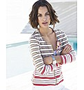 Betty Barclay Stripe Zip Through Jacket
