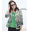 Frank Walder Printed Blazer