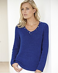 Lebek Tape Knit Jumper