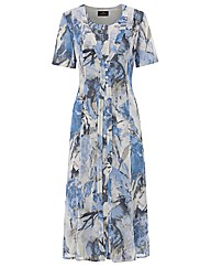 Eugen Klein Printed 2-in-1 Dress