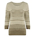 Anise Stripe Jumper