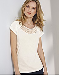 Anise Lace Detail Top
