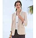 Anise Crepe Loose Blazer