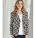 Anise Daisy Jacquard Blazer