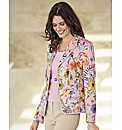 Basler Floral Print Blazer
