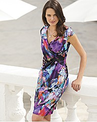 Vera Mont Digital Print Dress