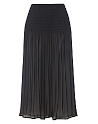 Apanage Chiffon pleated Skirt