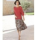 Steilmann Animal Print Skirt