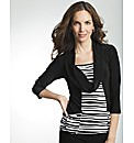 Frank Lyman Stripe Cowl Neck Top