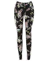 Passport Printed Cropped Trousers