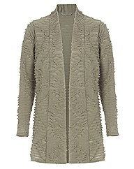 Chesca Textured Jersey Jacket