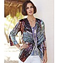 Chesca Crinkle Waterfall Jacket