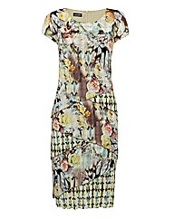 Gerry Weber Tiered Crinkle Dress