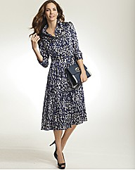 Gray & Osbourn Print Shirt Dress