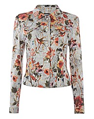 Gerry Weber Floral Jeans-style Jacket