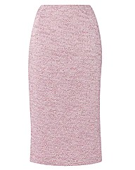 Gray & Osbourn Mid Length Textured Skirt